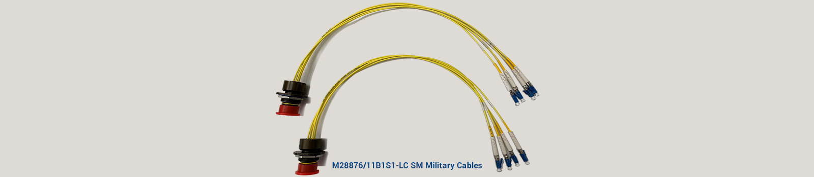M28876 11B1S1 LC SM Military Cables
